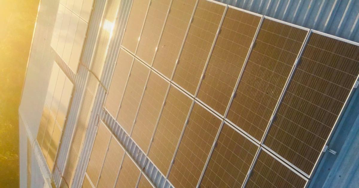Instalación fotovoltaica en Calderería Manzano S.A.